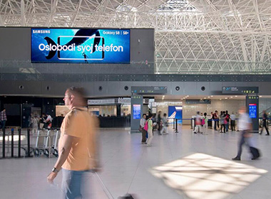 Airport LED Screen Solution