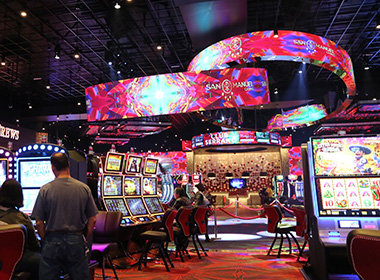 Casino LED Screen Solution