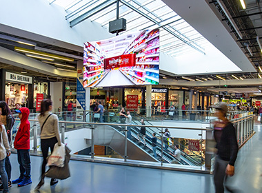Retail LED Screen Solution