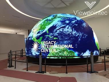 earth globe led display