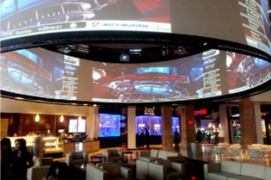 Round LED Display