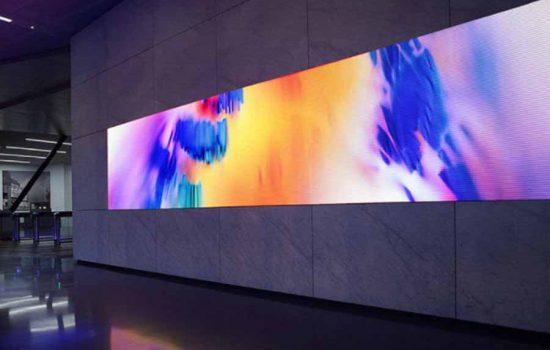 A Wall Video Display